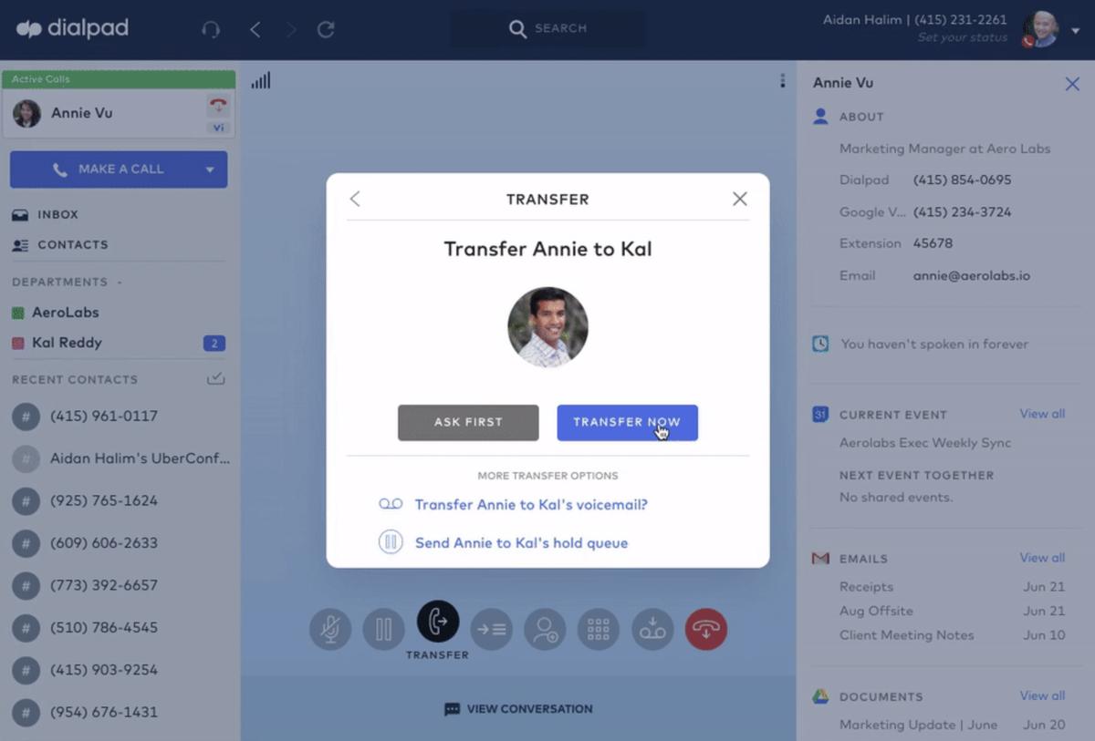 Transfer Calls