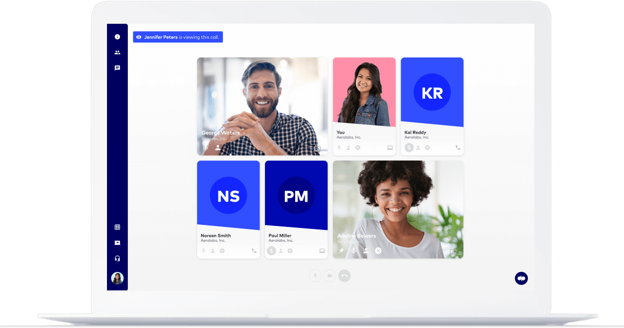 dialpad's unified communications platform which comes with conference calling built in