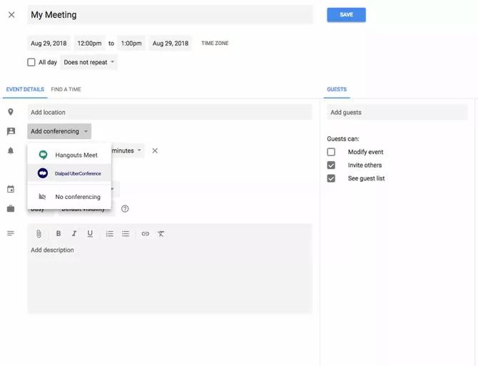 dialpad google calendar integration