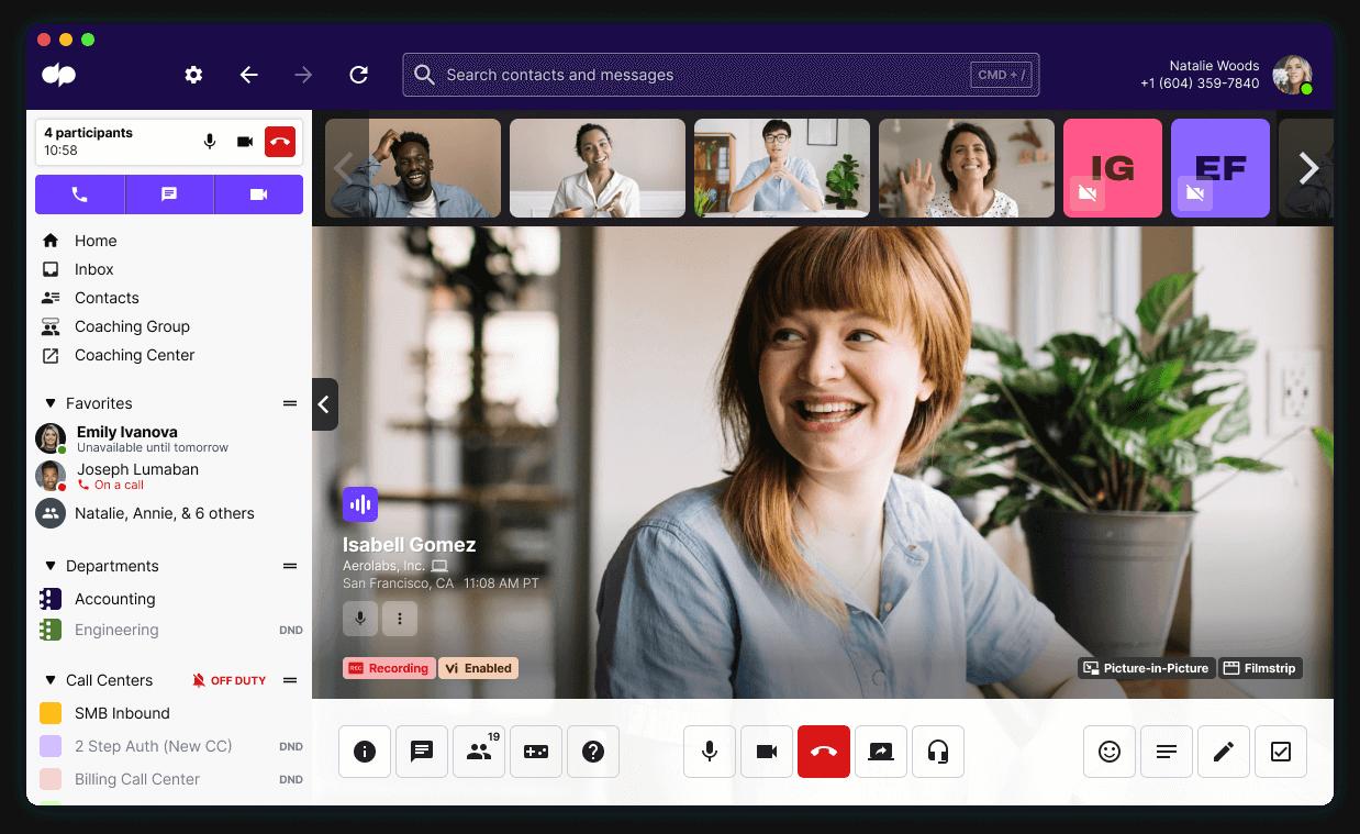 dialpad meetings in desktop app