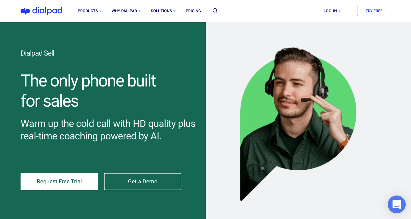 Dialpad Sell for Sales Teams
