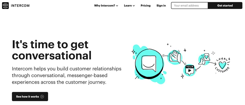 Intercom Sales Chat Tool