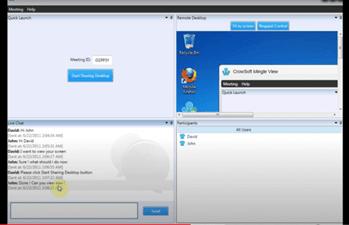 mingleview screen sharing tool