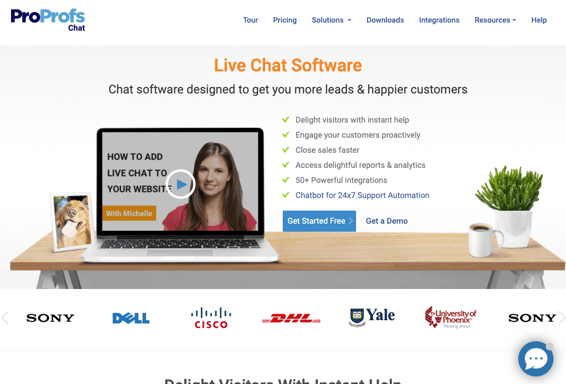 ProProfs Live Chat Software