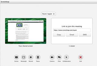 screenleap screen sharing tool
