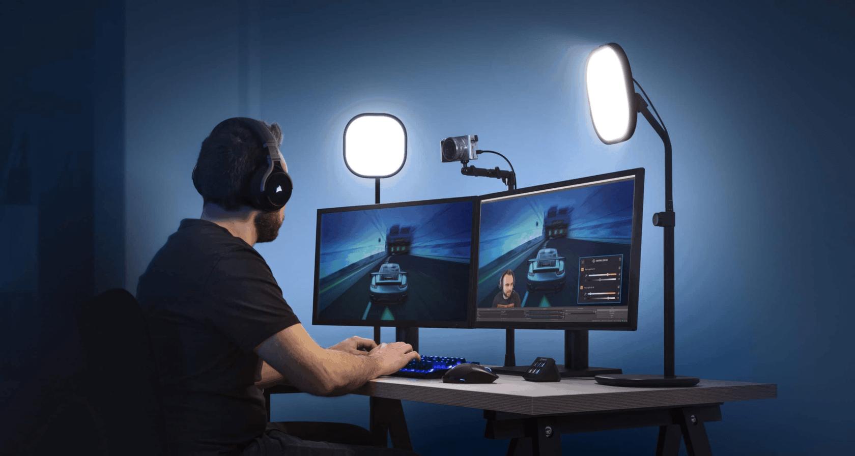 webcam lighting tools
