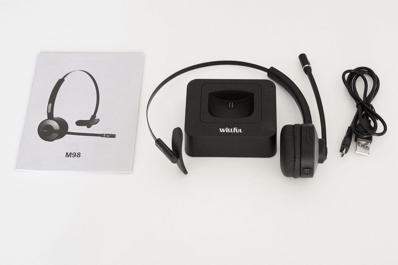 willful m98 bluetooth headset
