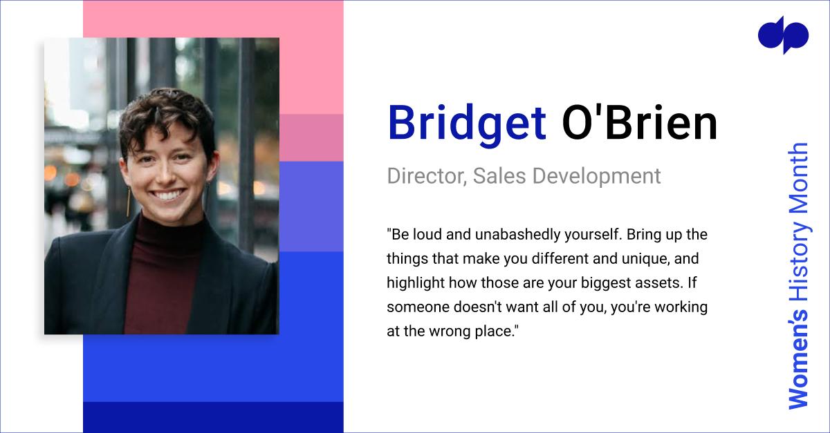Bridget O'Brien - Women's History Month