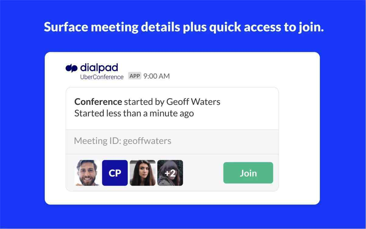 UC Quick Join Access