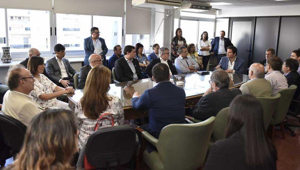 Se realizó un encuentro federal del Programa Nacional de Formación de Enfermería.