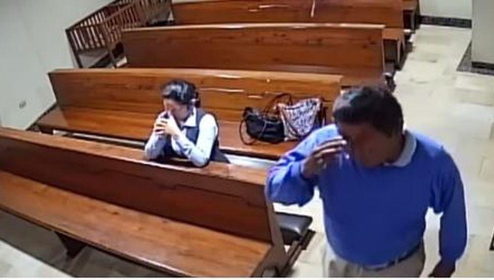 El inaudito robo en una Iglesia que fue furor en las redes
