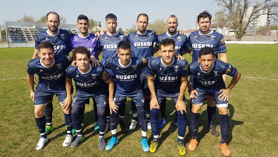 Primera división de Villa Belgrano que hoy visita a Rivadavia (L).