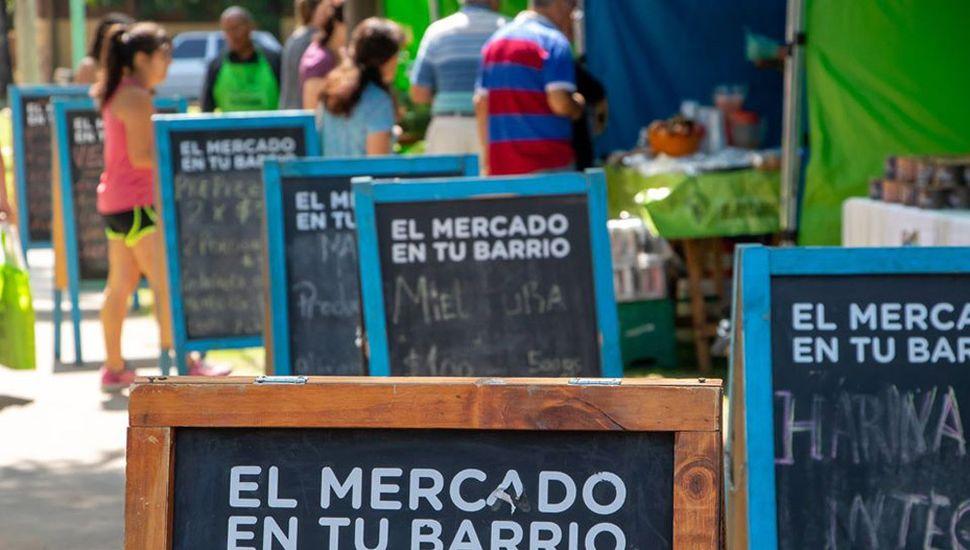 Promociones en el mercado.