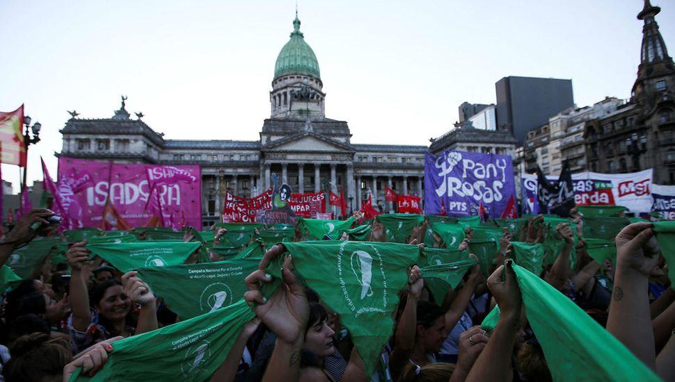 La movilización realizada el año pasado convocó a miles de personas.