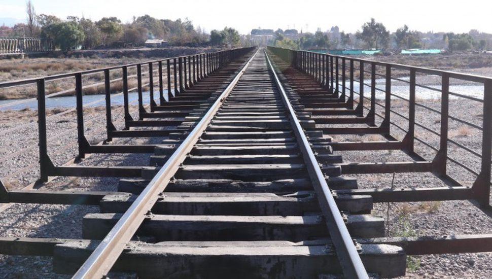 Finalizaron obras de recuperación de vías en el ramal San Martín Cargas en Mendoza
