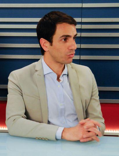 El intendente Pablo Petrecca, el invitado de esta noche.