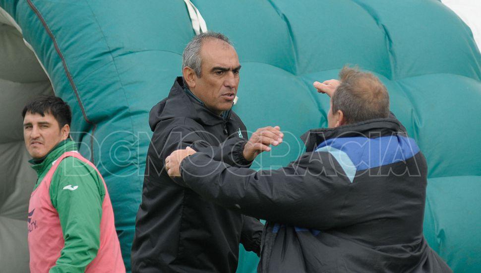 Punto positivo.  Iván Delfino destacó que el empate se logró ante un rival  de jerarquía.
