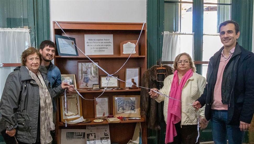 Quedó inaugurada una muestra que hace un repaso por la vida de Catalina Martinelli (Lita).
