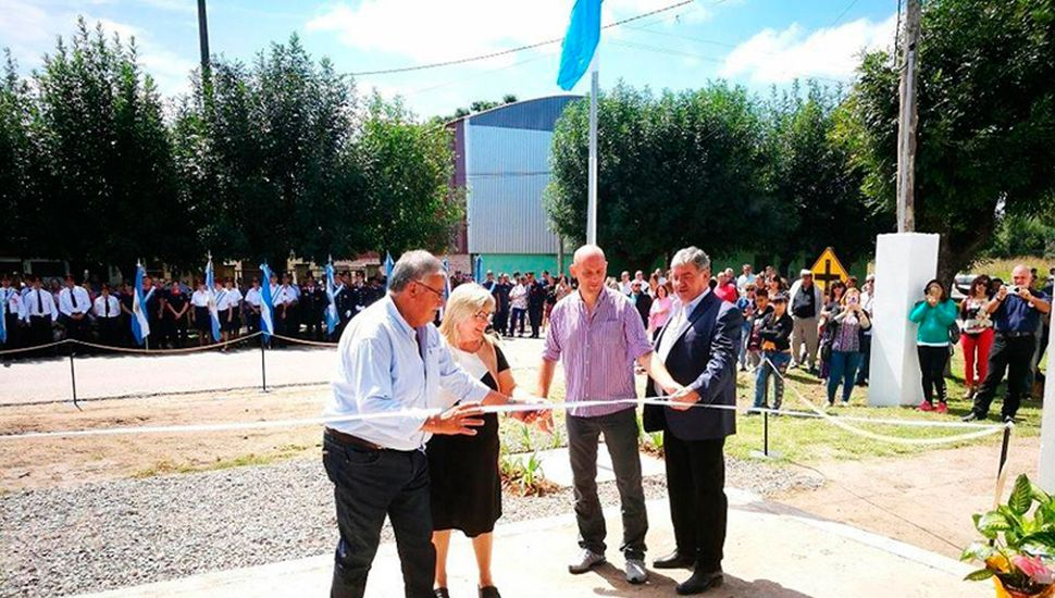 El Cuartel de Mechita quedó oficialmente inaugurado.