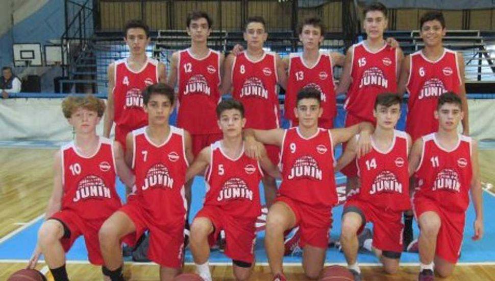 La selección U-15 de la Asociación Juninense de Básquetbol se prepara para el Provincial de La Plata.