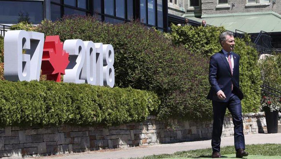 Macri instó a bajar el déficit  para usar menos plata del Fondo