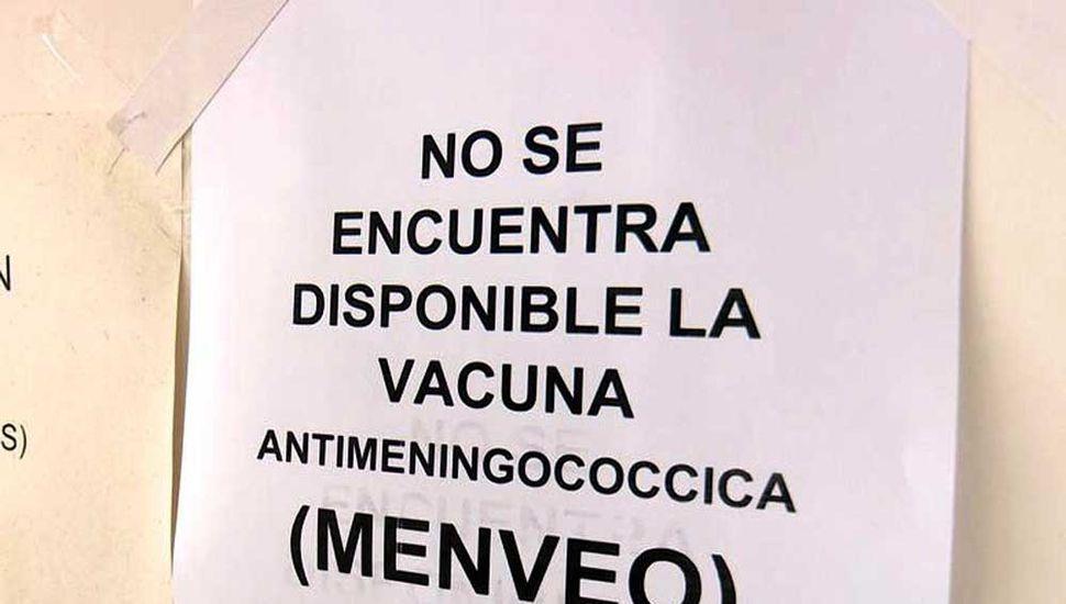 Traverso denunció el  faltante de vacunas