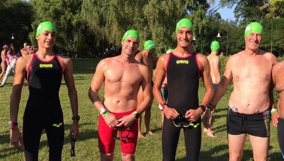 Tres bragadenses participaron en la Río Mar 2020 de Nechochea