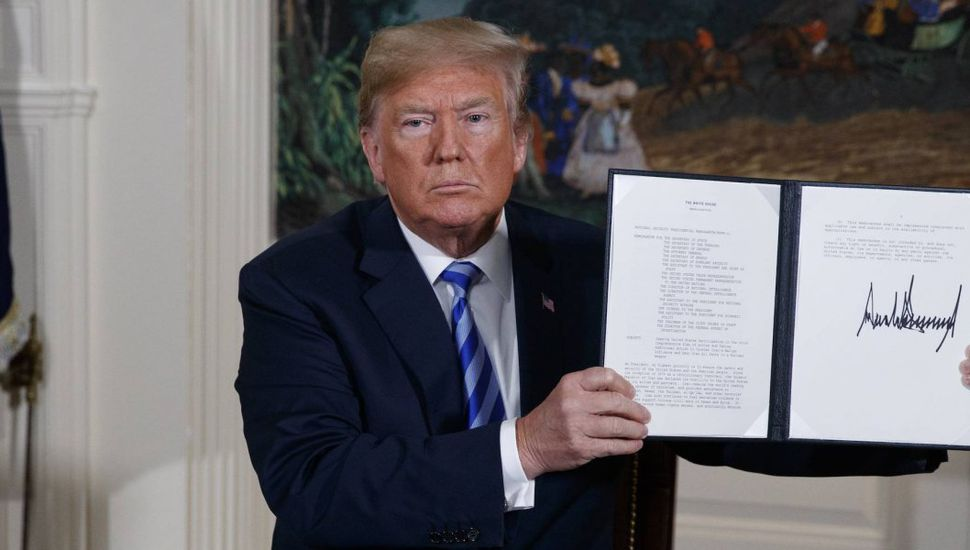 Tensión internacional por la salida de Trump del pacto nuclear con Irán