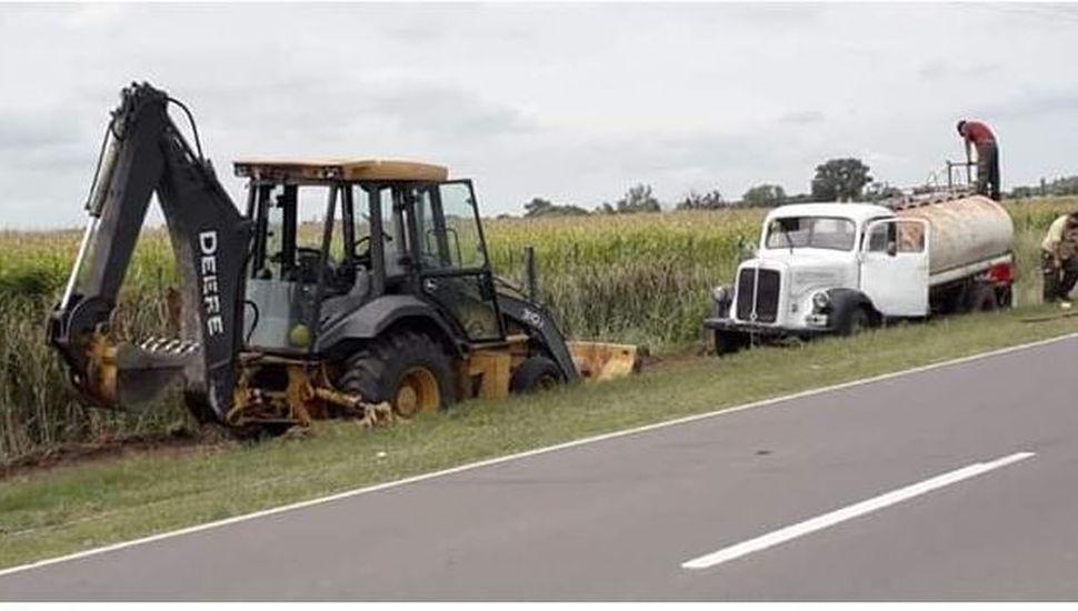 Piden precaución a los vecinos de Ascensión por obras en la ruta
