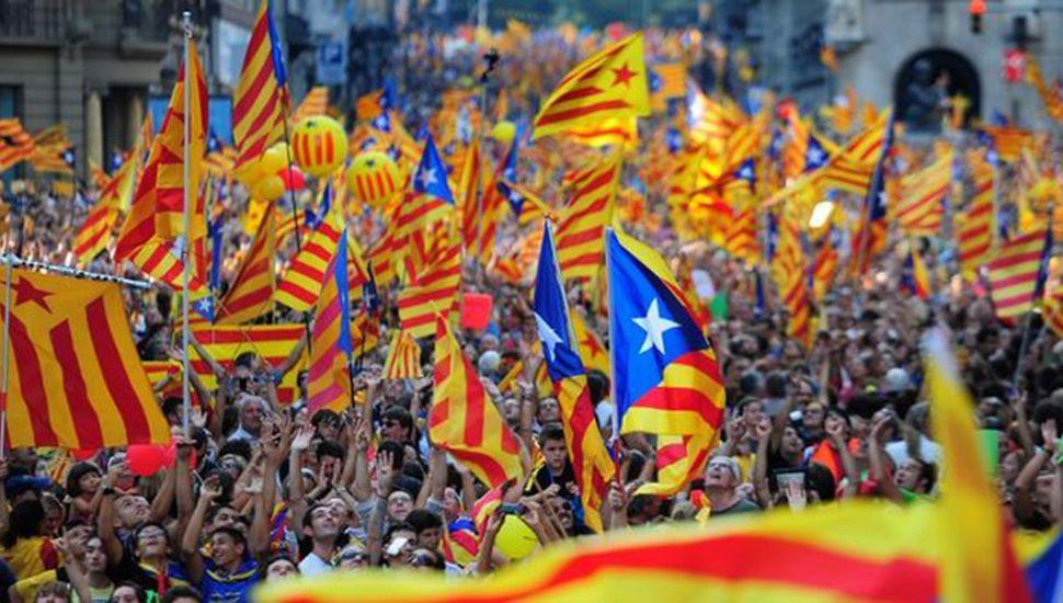 Miles de personas marcharon por la unidad de España