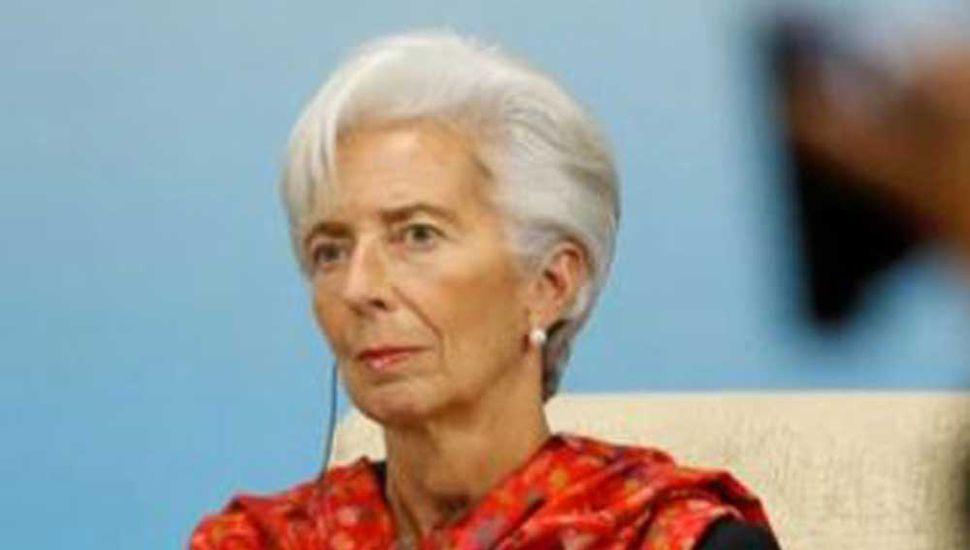 """Lagarde advirtió a la Argentina por el """"momento delicado"""" de la economía"""