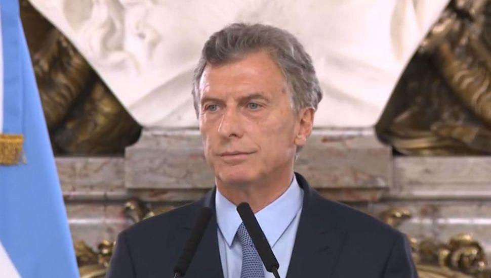 Macri anunció un decreto para recuperar los bienes de la corrupción y del narcotráfico
