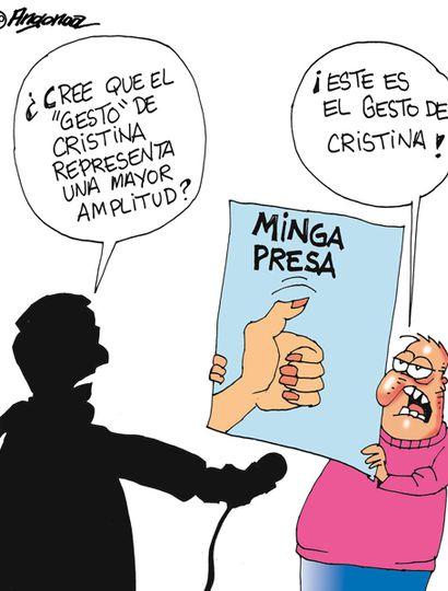 """El 58% de los votantes """"no"""" cree en el gesto de apertura de Cristina"""