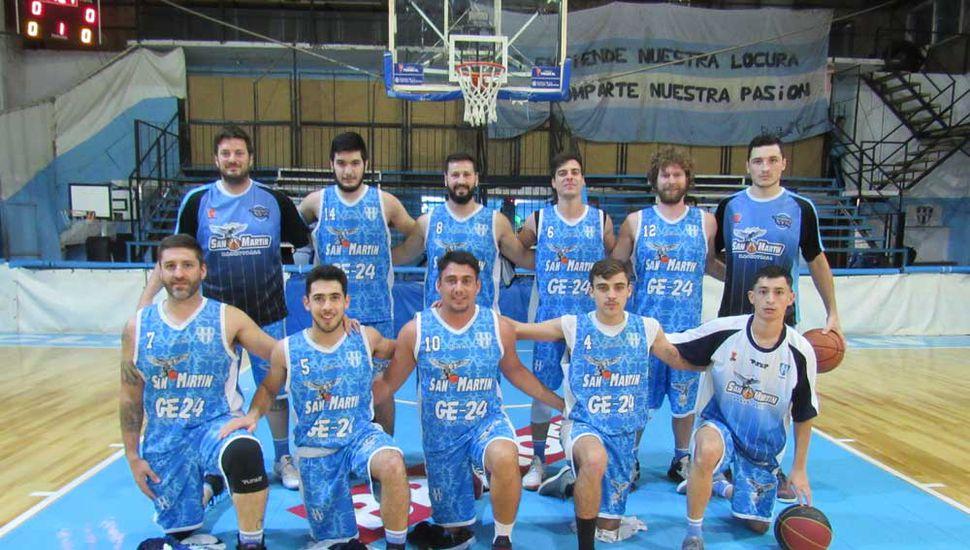 Plantel de primera del Club Deportivo Baigorrita.