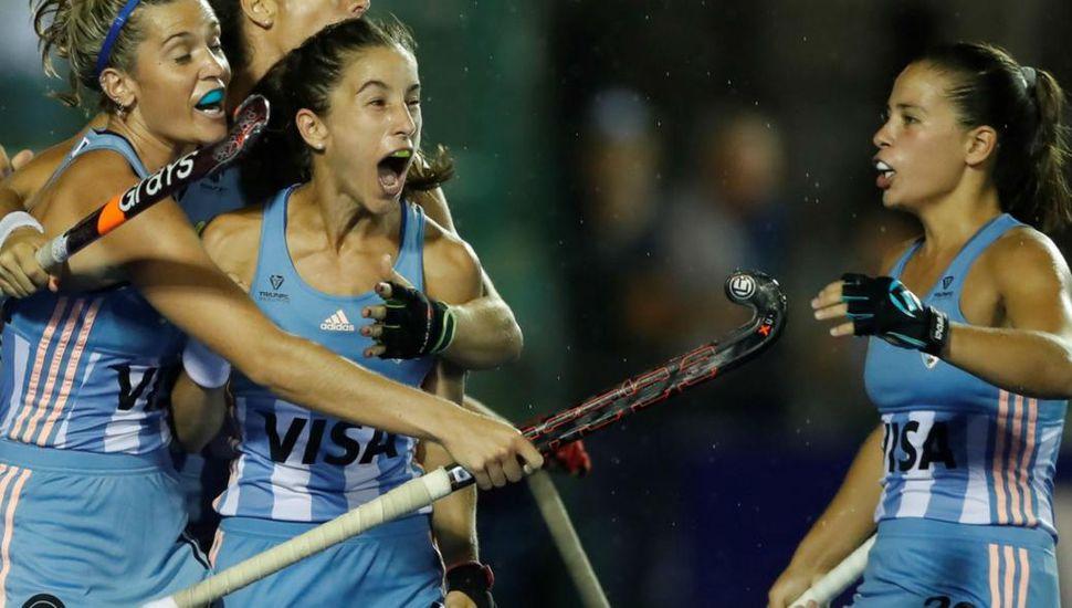 """""""Las Leonas"""" vencieron por penales a Alemania, por la FIH Pro League"""