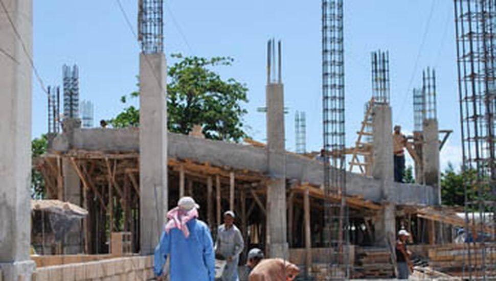 El rubro de la construcción continúa mostrando signos de mejora