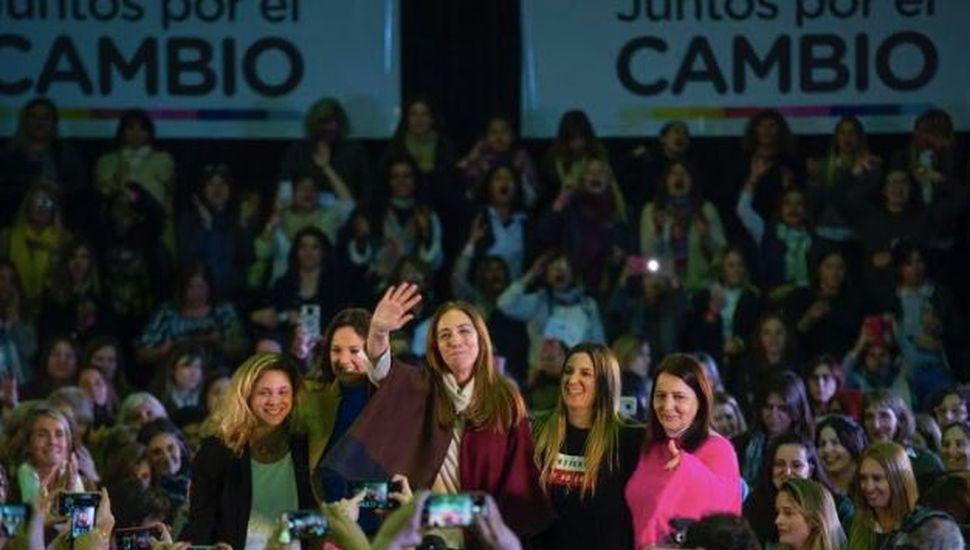 """Vidal: """"Millones de mujeres decimos basta a los machos que durante 28 años nos subestimaron"""""""