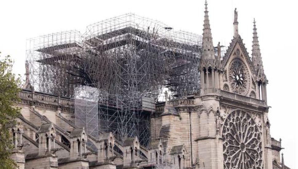 Dramática advertencia sobre el futuro de la Catedral de Notre Dame