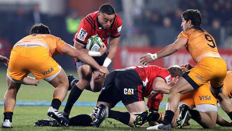 Los Jaguares no pudieron contra Crusaders y los de Nueva Zelanda so tricampeones del Súper Rugby.