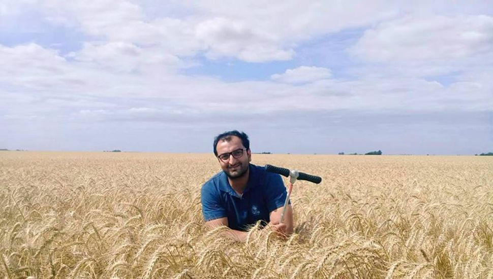 Bashar Badro tiene 34 años, es ingeniero agrónomo y trabaja en una empresa de semillas.