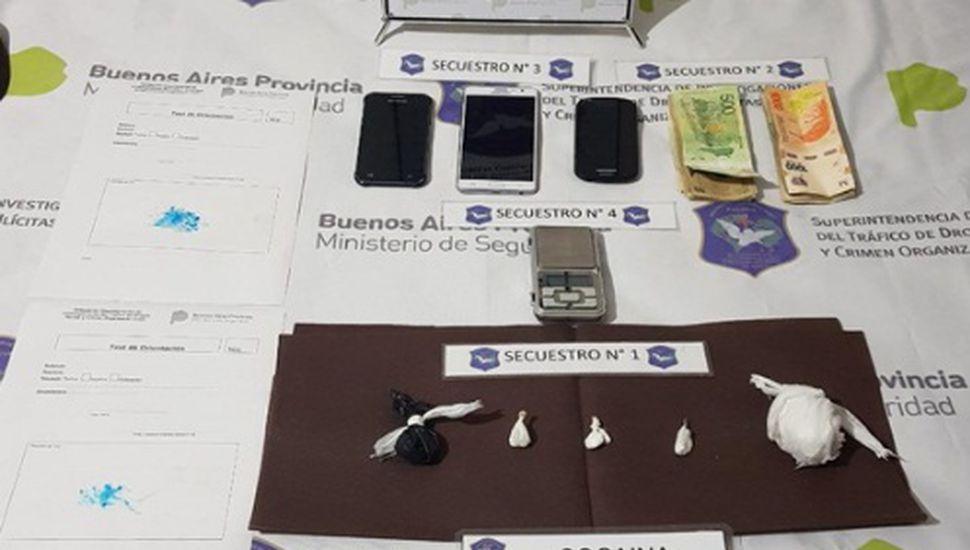 Realizaron allanamientos por venta de drogas en Chacabuco