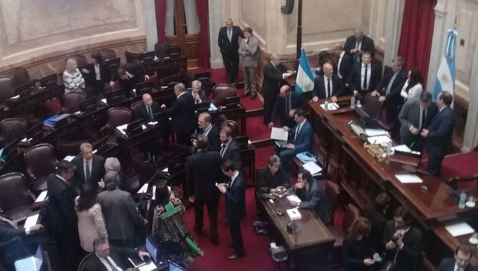 EN VIVO: comenzó la sesión en la que el Senado convertirá en ley el freno a las tarifas