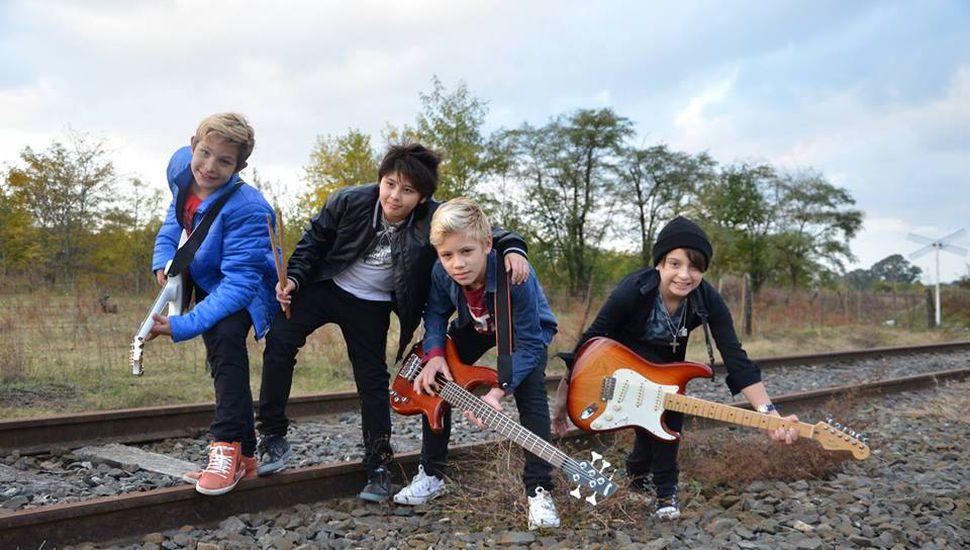 """Los ex """"Peques del rock"""" están grabando un nuevo disco"""