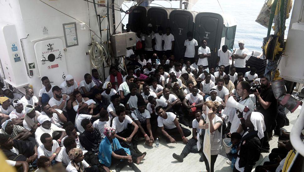 La tragedia de los migrantes africanos, que buscan un sitio donde vivir en paz.