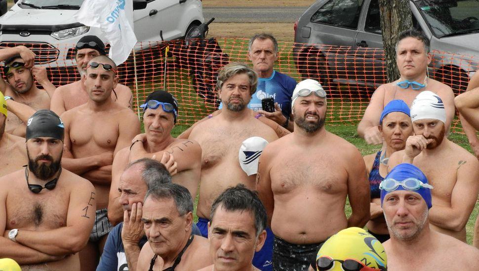 Fueron 167 los competidores del tradicional Cruce Chico.