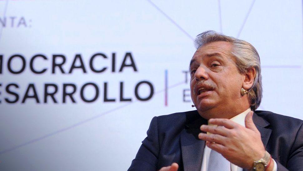 """Alberto Fernández dijo que """"Argentina está en un default virtual y escondido"""""""