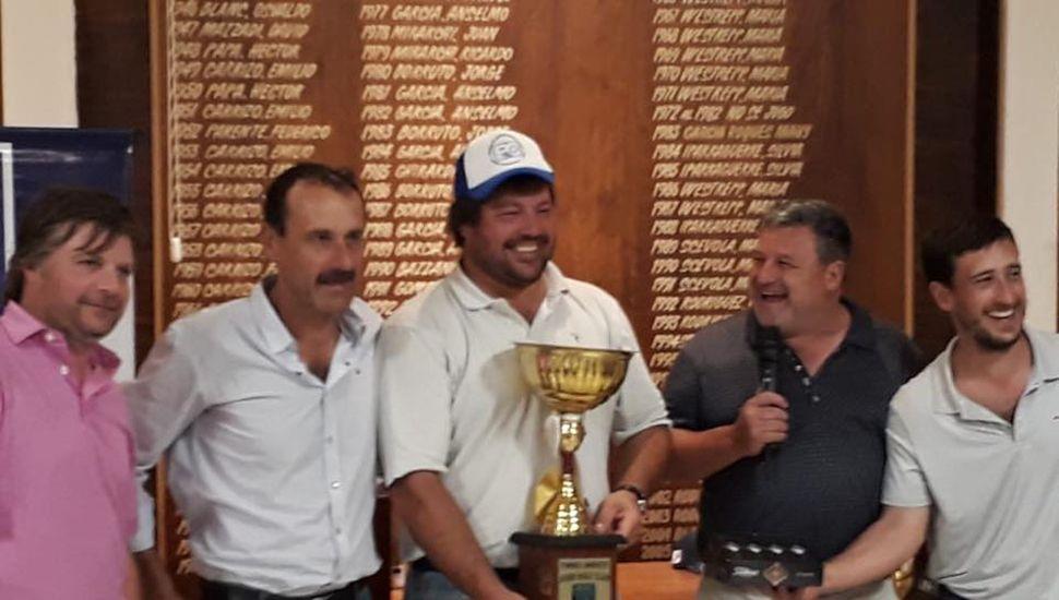 Con 146 golpes, Pedro Bocaccio ganó el torneo Abierto del Junín Golf Club