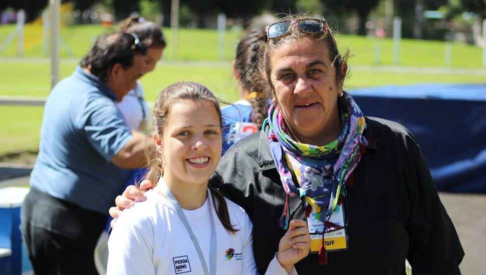La atleta Milagros Mostaffa viajará a los Juegos Parapanamericanos