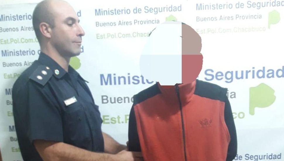 Detienen a un hombre de 24 años en Chacabuco