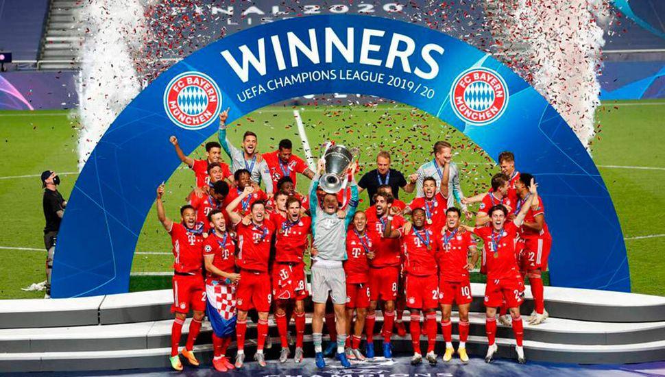Bayern Múnich campeon